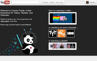 Cosmic Panda (La nueva intefas de youtube)