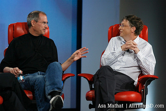 Carta(s) de Bill Gates a Steve Jobs