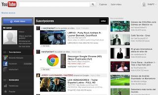 Activar nueva interfaz YouTube