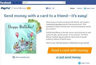 Paypal en Facebook