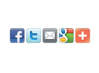 Botones para compartir articulos en redes sociales