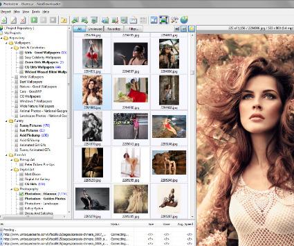 Descarga muchas imagenes con NeoDownloader Lite