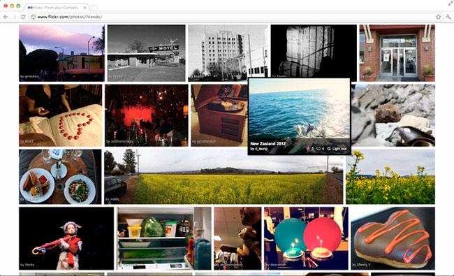 Flickr, cambiara de diseño!
