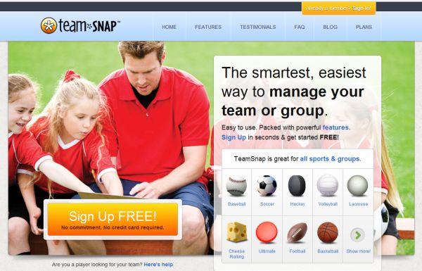 TeamSnap – Una nueva aplicación, que nos ayudara a compartir más nuestro tiempo.