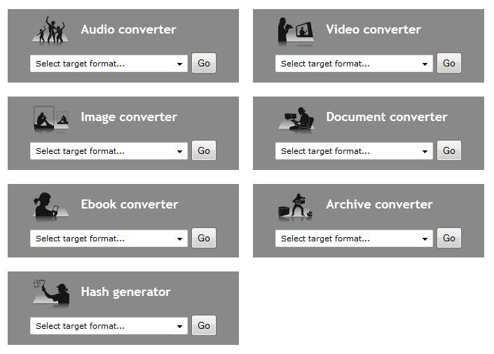 Convertir videos a otros formatos
