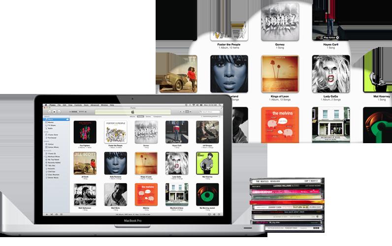 Escuchar toda tu musica con iCloud