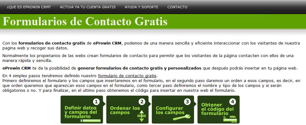 Un formulario de contacto para tu blog