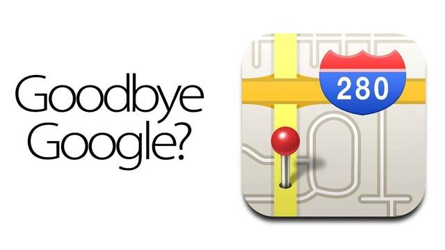 Apple lanza su propio sistema de mapas, adiós Google Maps