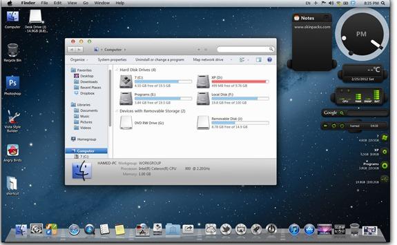 Transformar Windows 8 en Mac OSX