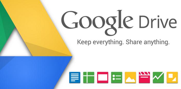 Google Drive, almacena archivos online desde android