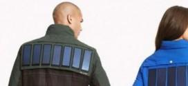 Chaquetas con paneles solares marca Tommy Hilfiger